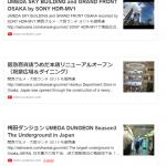 introduce around JR Osaka Station