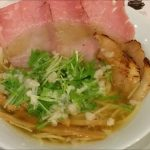 名もなきラーメン(大阪・天六)人類みな麺類系列