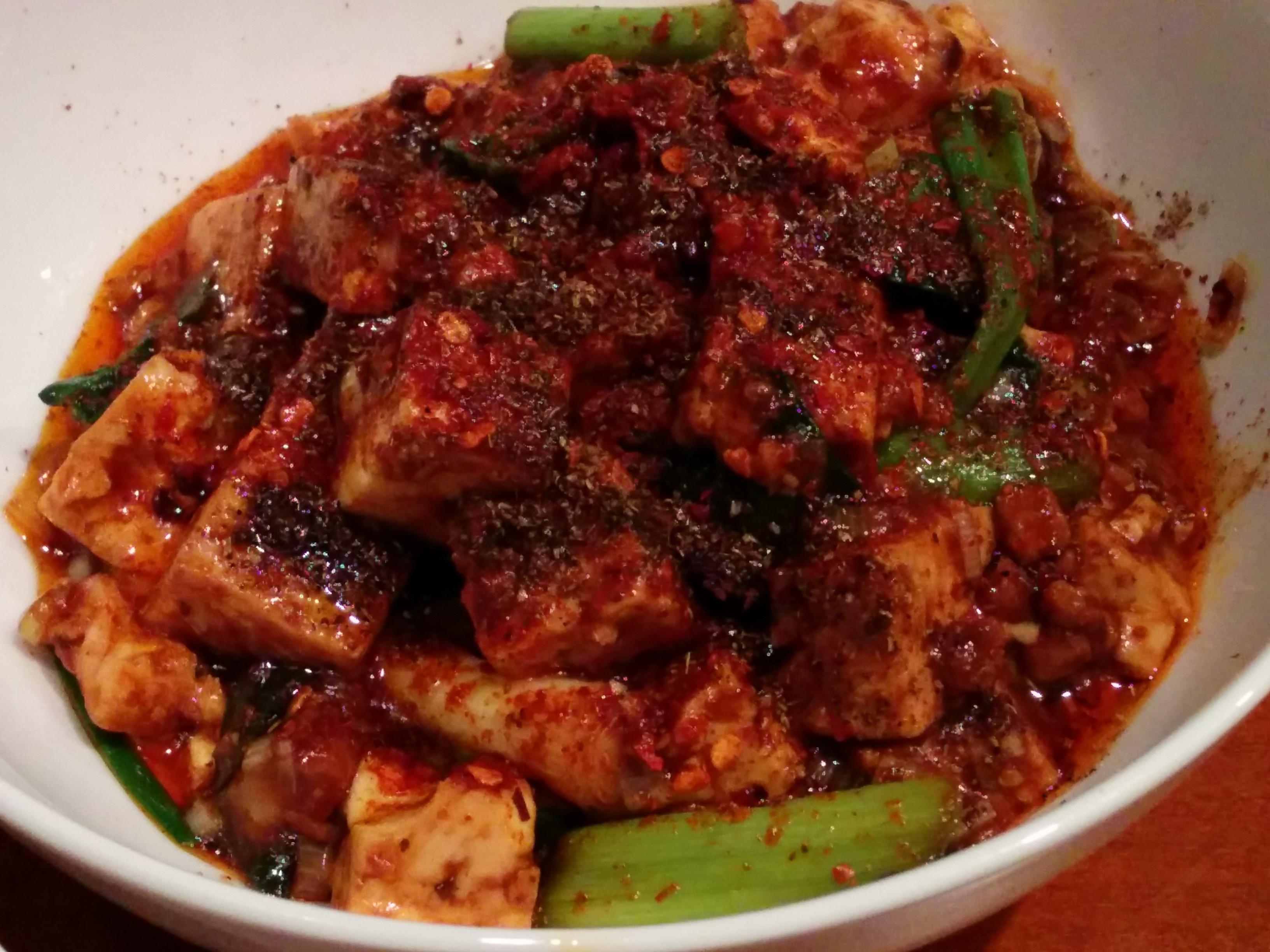 中菜Labo.朝陽(北新地)最強麻婆豆腐