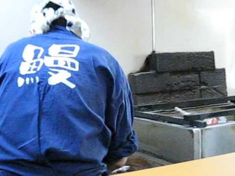 鰻家 うりずん。関西風鰻屋の最高峰(現在は西中島南方に移転)