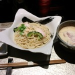 鶏soba 座銀(大阪・肥後橋)鶏白湯ラーメン・つけ麺