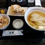 讃岐うどん 白庵 (大阪・神崎川)
