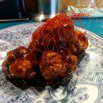 麻婆豆腐と酢豚