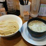 桐麺十三店で鶏白湯のつけ麺