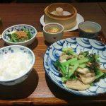 中国菜エスサワダ(大阪の中華/西天満ランチ)-本日のランチ