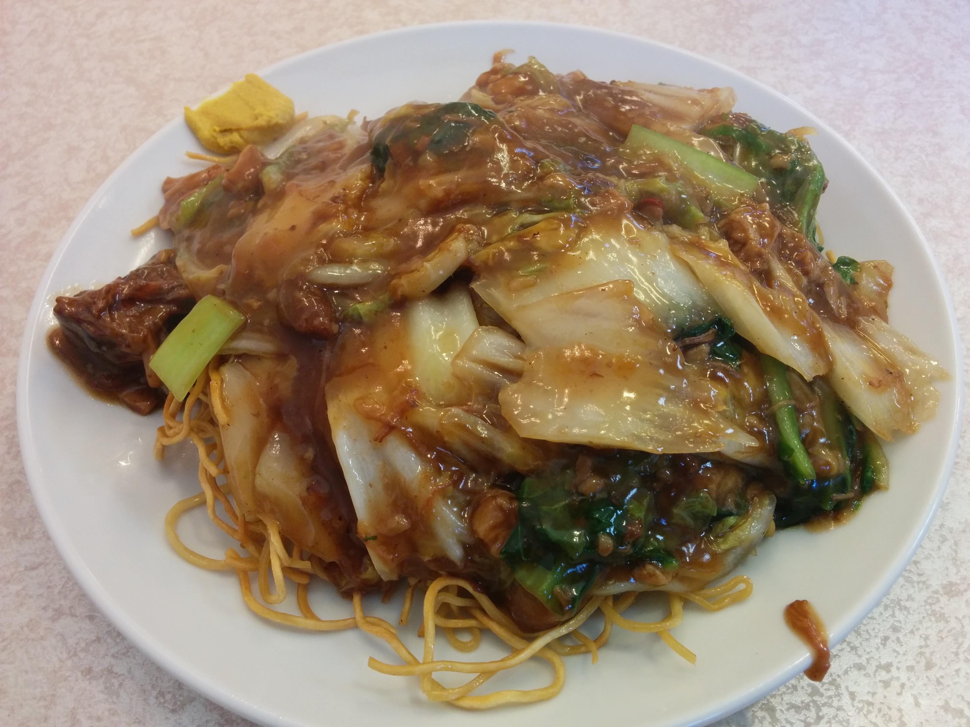 【神戸SPECIAL】3.中国料理 Kirin(神戸・深江)ビーフシチュー焼きそば