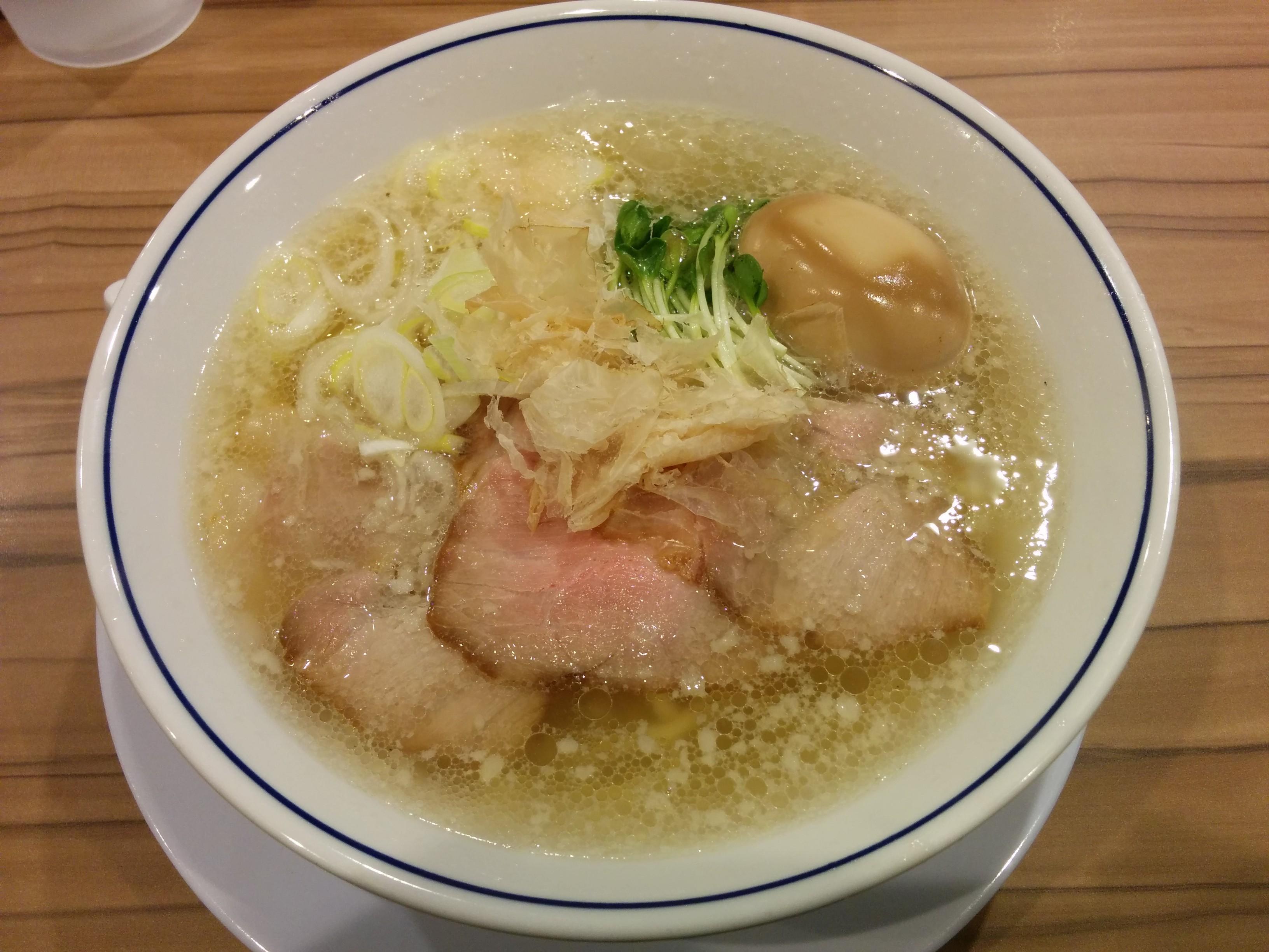 らーめん鱗 西中島店(塩らーめん)