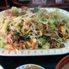 とん平 丼池店(大阪・心斎橋、本町)肉入り野菜炒め定食