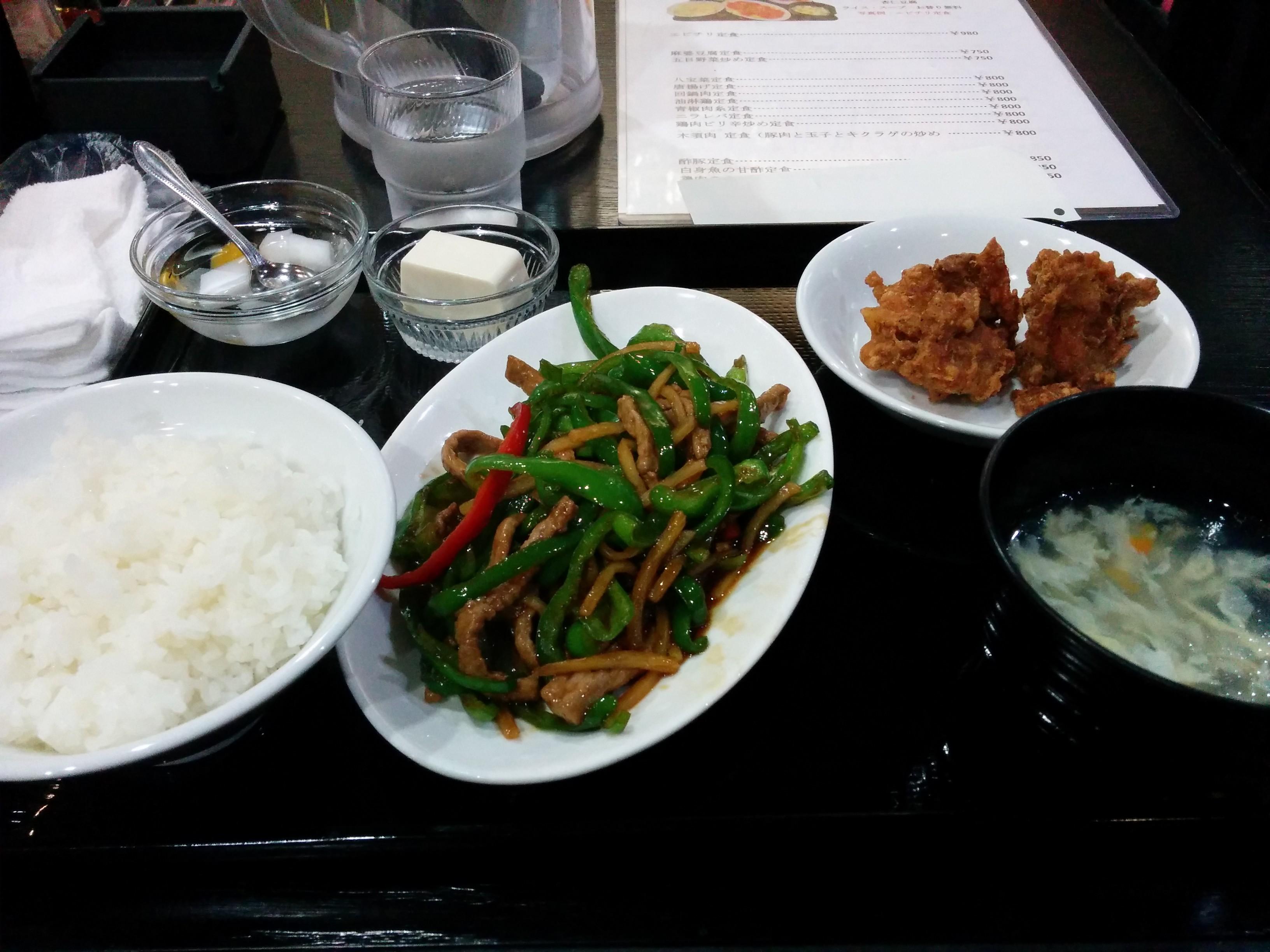 福縁(大阪・堺筋本町)中華料理