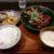 定食堂 金剛石(大阪・松屋町)仔羊の生姜焼き定食