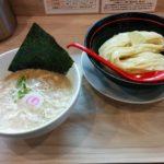 塚本一盃(大阪・塚本)限定「冷しとんこつ魚介つけ麺」