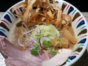 鶏Soba 座銀 にぼし店-煮干し吟醸nigori(大阪・心斎橋)