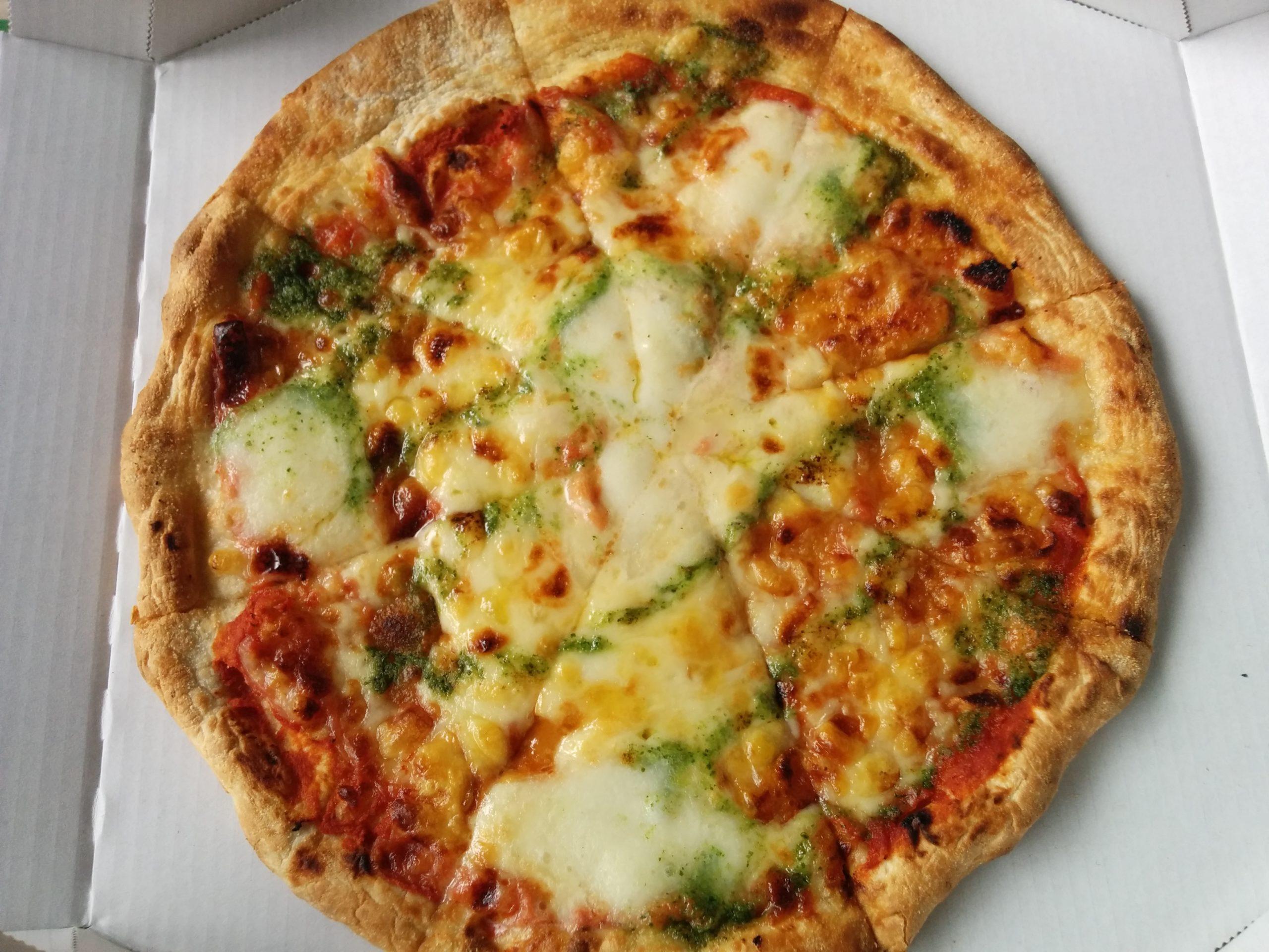 ガストのピザ テイクアウト半額 323円